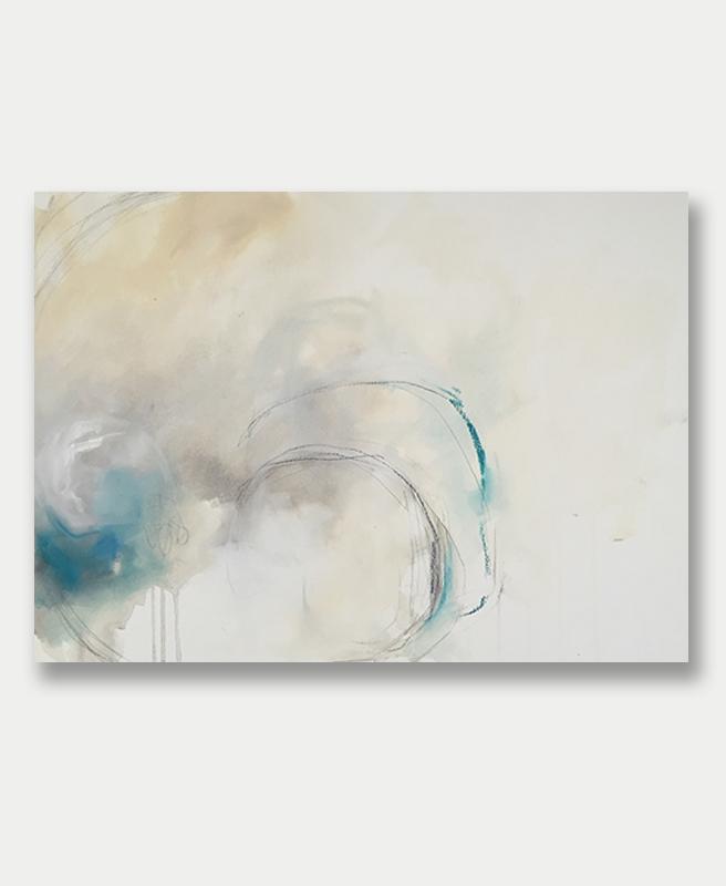 Eclipse - Abstract Art by Lauren Bolshakov