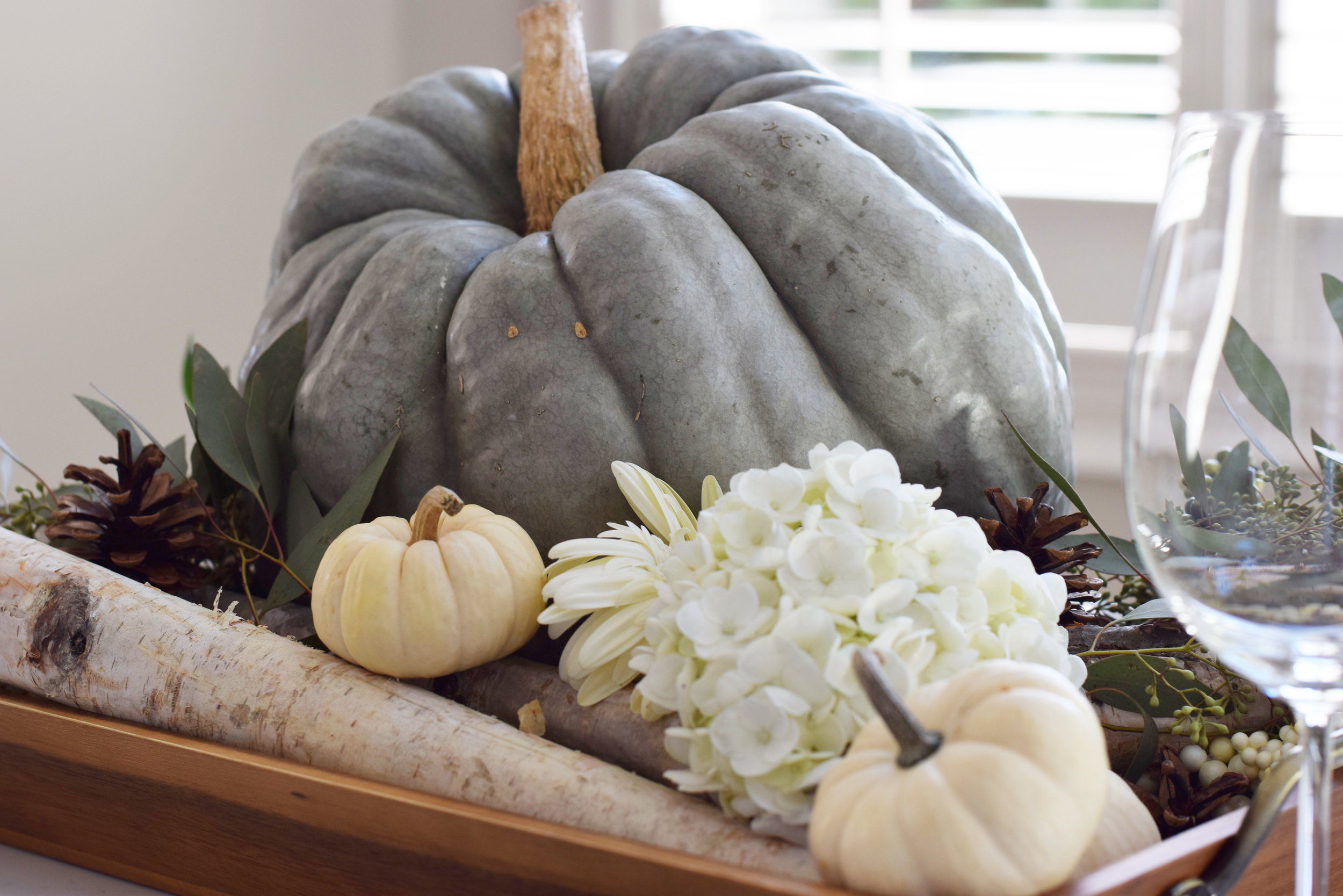 Fall Centerpieces - Three Studios Blog