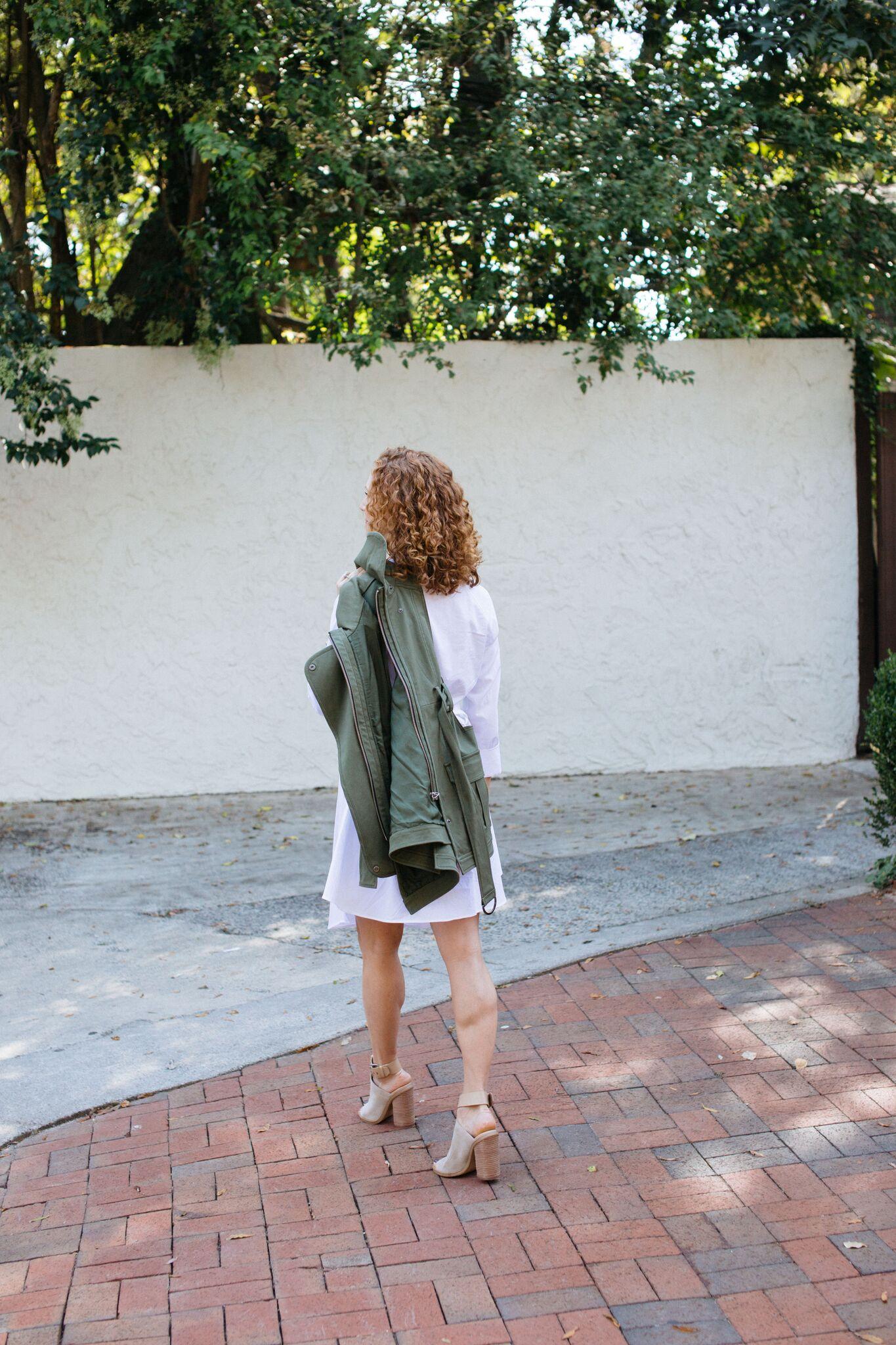 Marissa Webb Vest - Fall Laying Ideas - Three Studios Blog