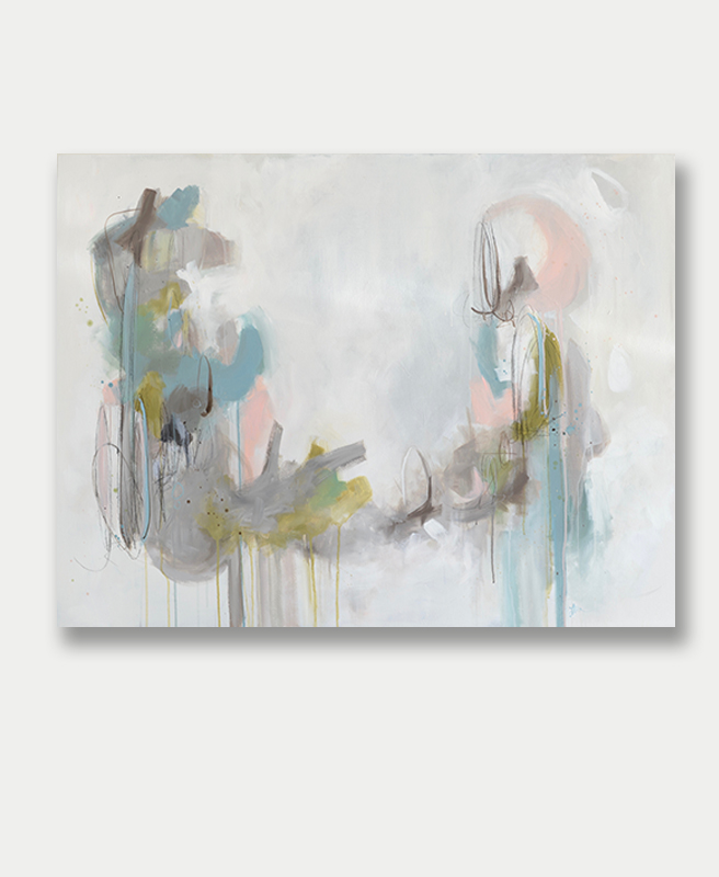 Large Abstract Art By Lauren Bolshakov