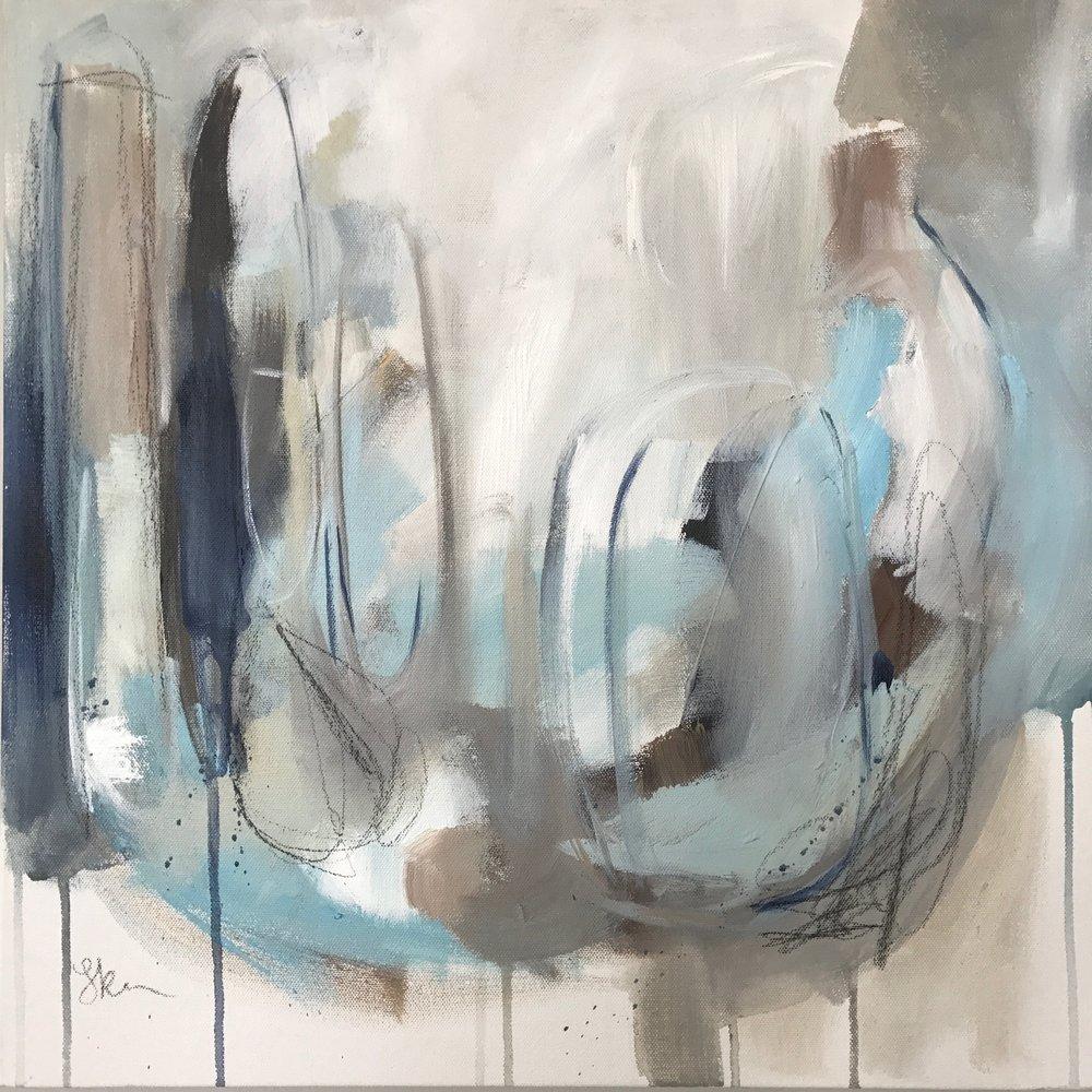 Blue Jays 18x18 Acrylic and Charcoal on Canvas.jpg