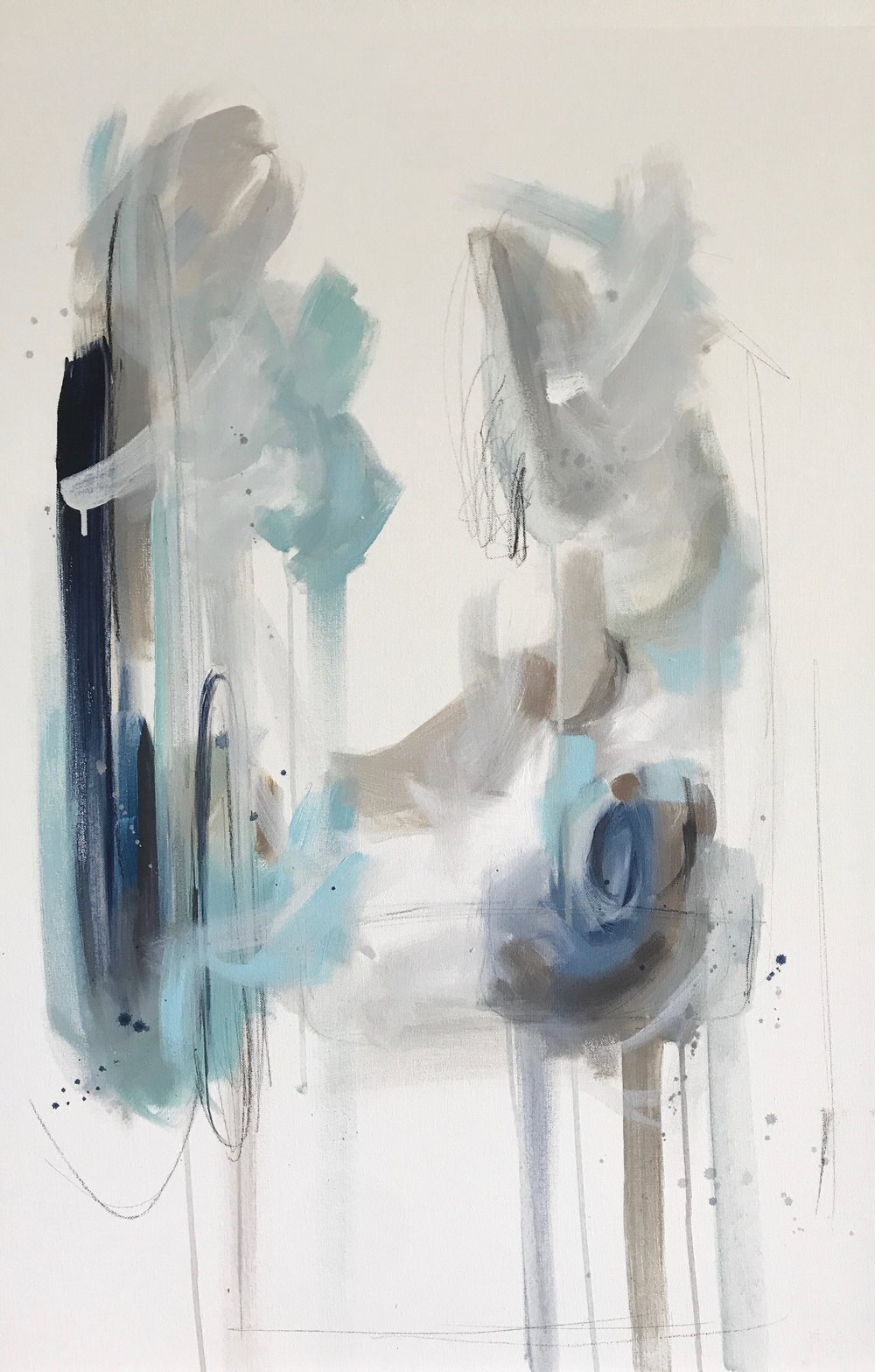 Mediterranean Blues 24x36 Acrylic and Charcoal on Canvas.jpg