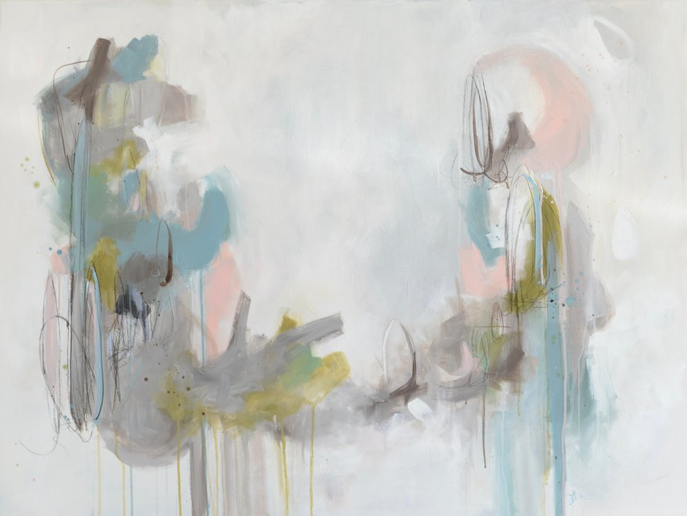 She's Always Daydreaming 36x48 Acrylic and Charcoal on Canvas.jpg