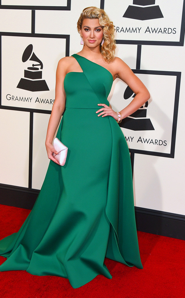Tori Kelly in Gauri & Nainika - Grammys 2016 Red Carpet Winners And Losers