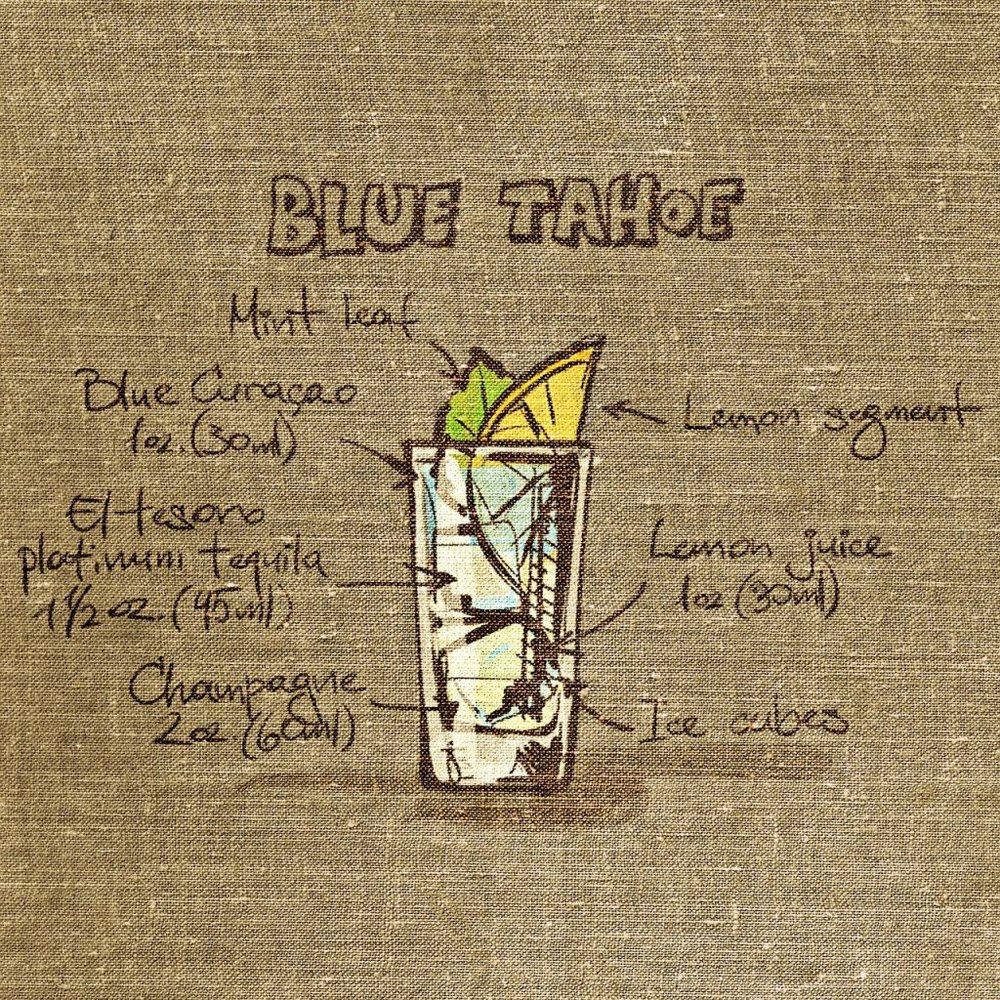 Blue Taho Drink