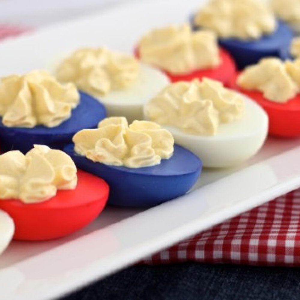There is no reason why your July 4th should have a menu that doesn't send fireworks through your taste buds. Here are some delicious options.
