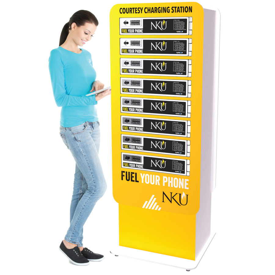 Moble phone charging station