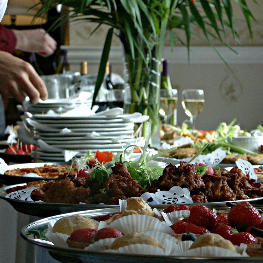 catering food display