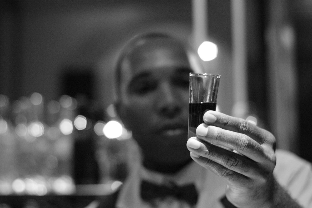 alcohol shot - Andrew Roby Events
