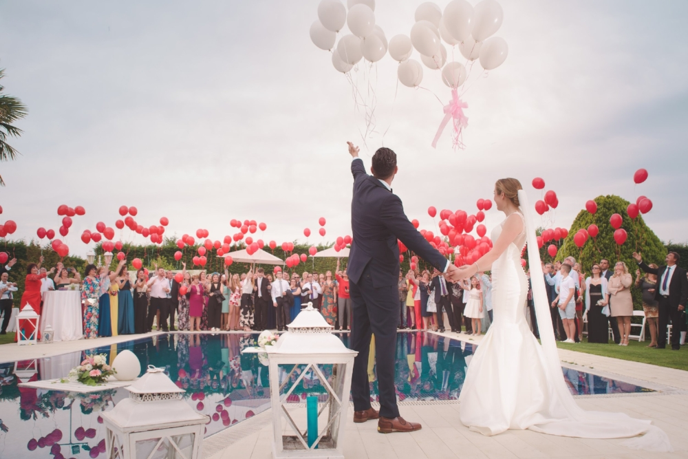Balloon Release - Andrew Roby Events