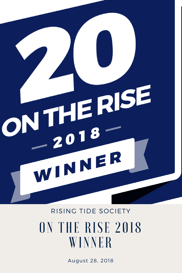 20 On The Rise 2018 Winner