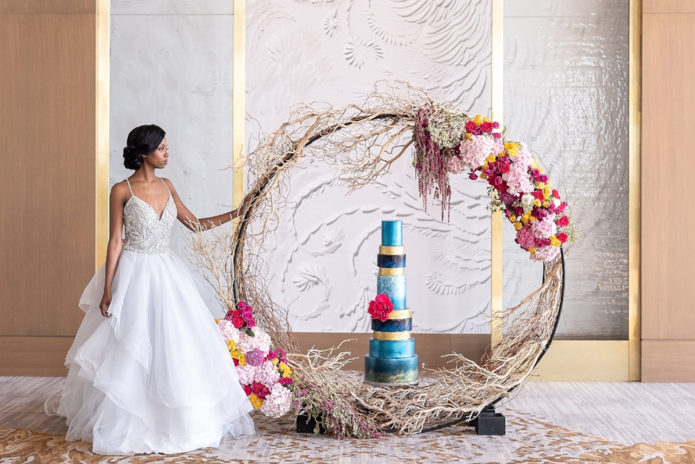 Intercontinental Wharf DC Wedding - Andrew Roby Events
