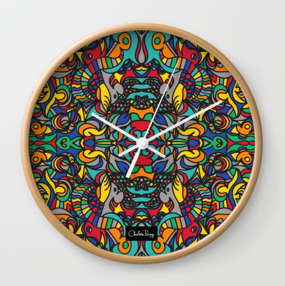 Copy of Copy of Top Hat Wall Clock