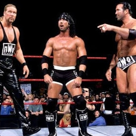 THe nWo (X-Pac, Scott Hall & Kevin Nash) vs. The Rock &