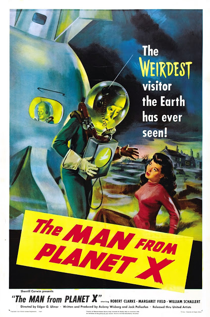 THE MAN FROM PLANET X - 1951