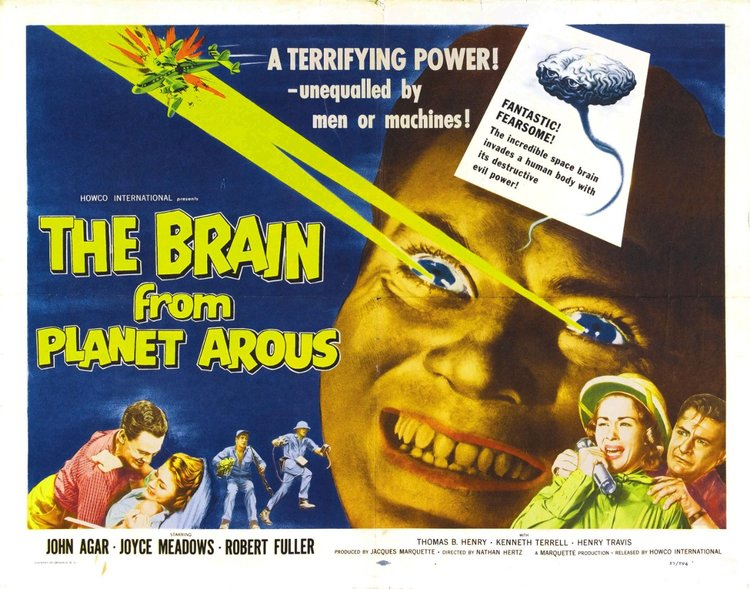 THE BRAIN FROM PLANET AROUS - 1957