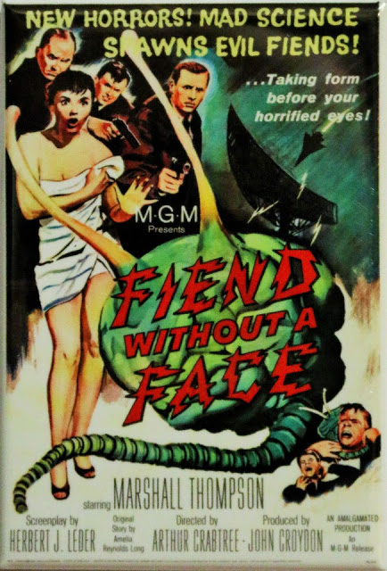 FIEND WITHOUT A FACE - 1958