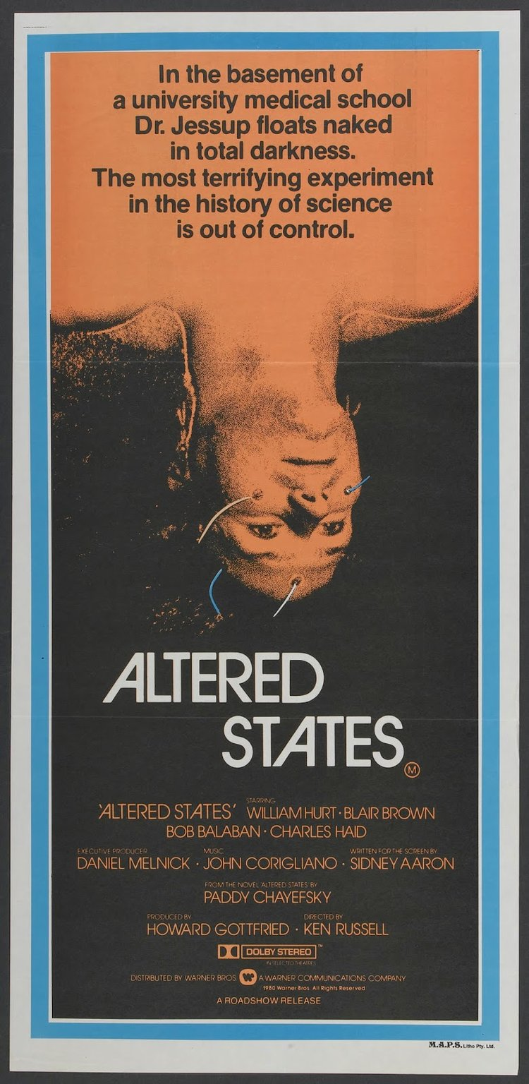 ALTERED STATES - 1980
