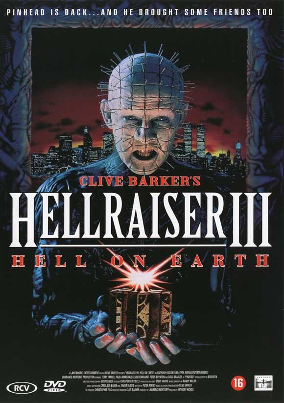 HELLRAISER III:HELL ON EARTH - 1992