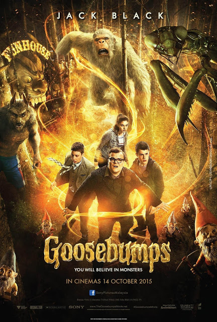 GOOSEBUMPS - 2015