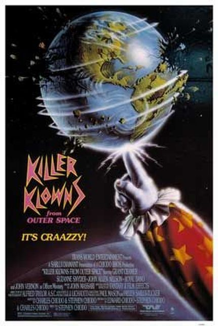 KILLER KLOWNS FROM OUTER SPACE - HORROR COMEDY1988