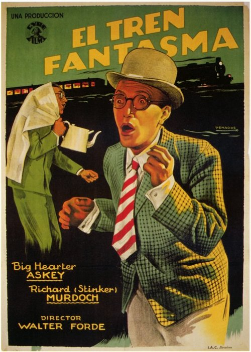 THE GHOST TRAIN - HORROR COMEDY1941