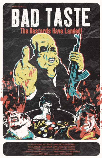 BAD TASTE - HORROR COMEDY1987