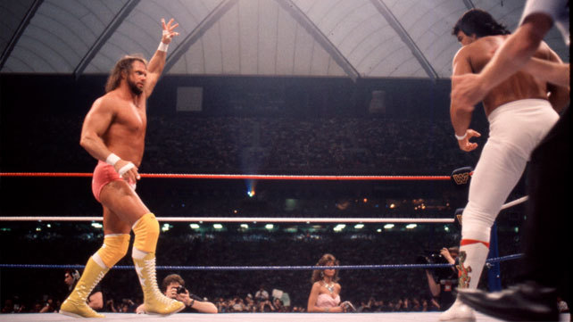 RANDY SAVAGE vs. RICKY STEAMBOAT - WRESTLEMANIA 31987