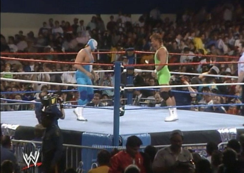 MR. PERFECT vs. THE BLUE BLAZER - WRESTLEMANIA V1989