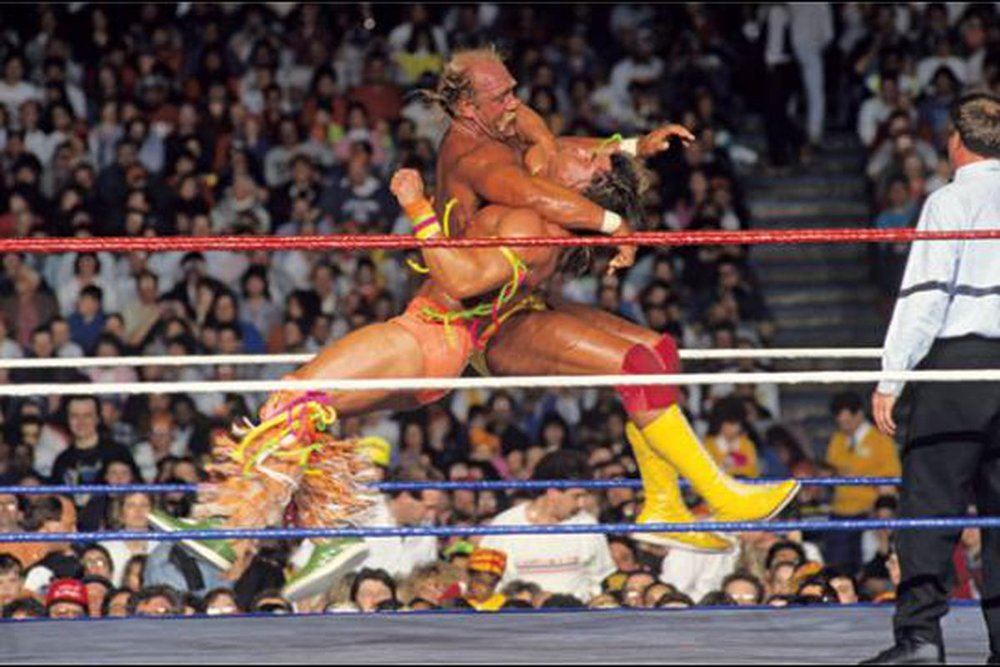 HULK HOGAN vs. THE ULTIMATE WARRIOR - WRESTLEMANIA VI1990
