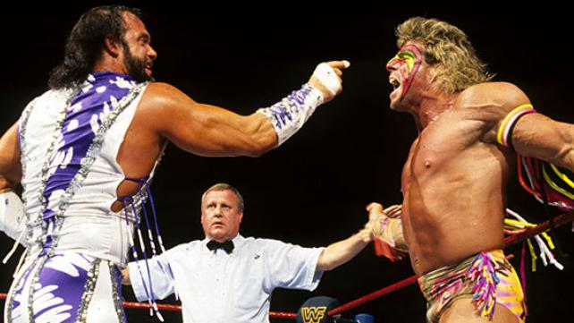 RANDY SAVAGE vs. THE ULTIMATE WARRIOR - WRESTLEMANIA VII1991