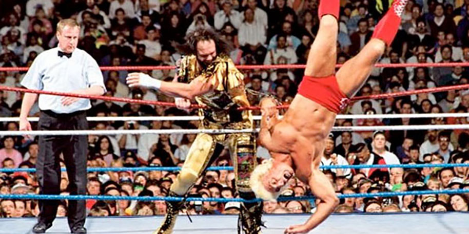 RANDY SAVAGE vs. RIC FLAIR - WRESTLEMANIA IIX1992