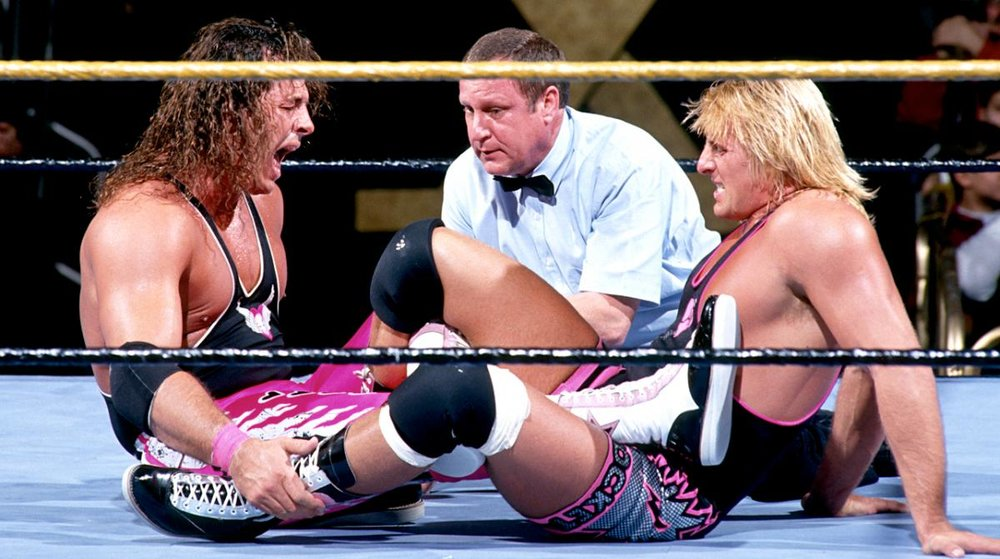 BRET HART vs. OWEN HART - WRESTLEMANIA X1994