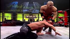 AJ Styles vs. Jerry Lynn vs. Psicosis vs. Low-Ki - NWA/TNA X Division Title Four Way Double Elimination Match (Special Referee: Ricky Steamboat)