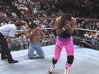 BRET HART & THE HONKY TONK MAN - GRUDGE MATCH #1