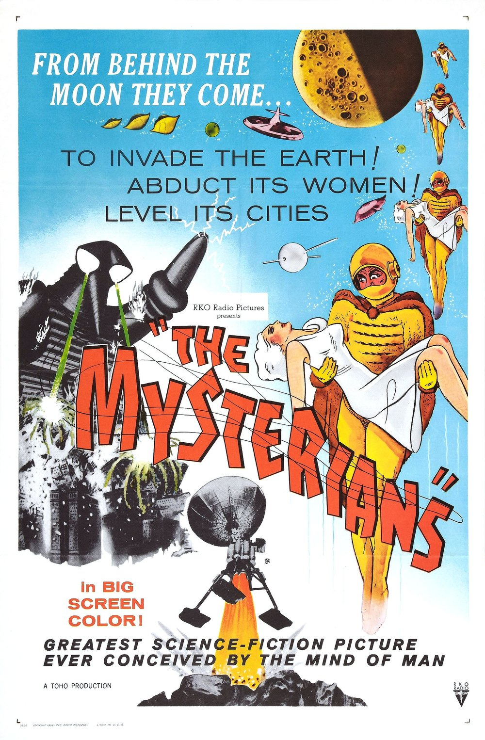 THE MYSTERIANS - 60/100