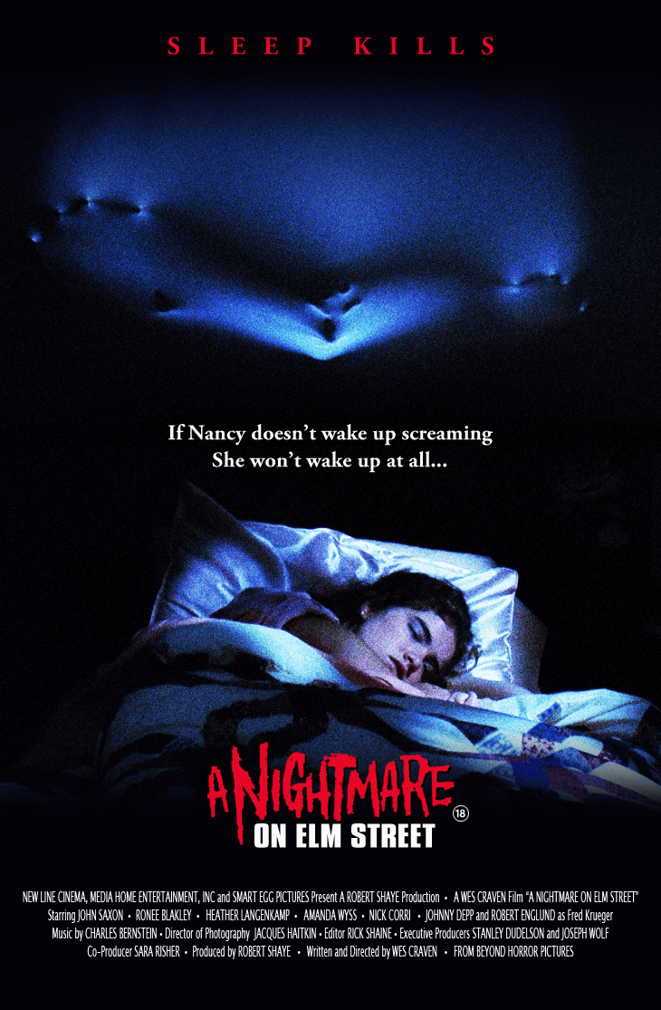 Nightmare on elm street 1984 poster by beyond.png