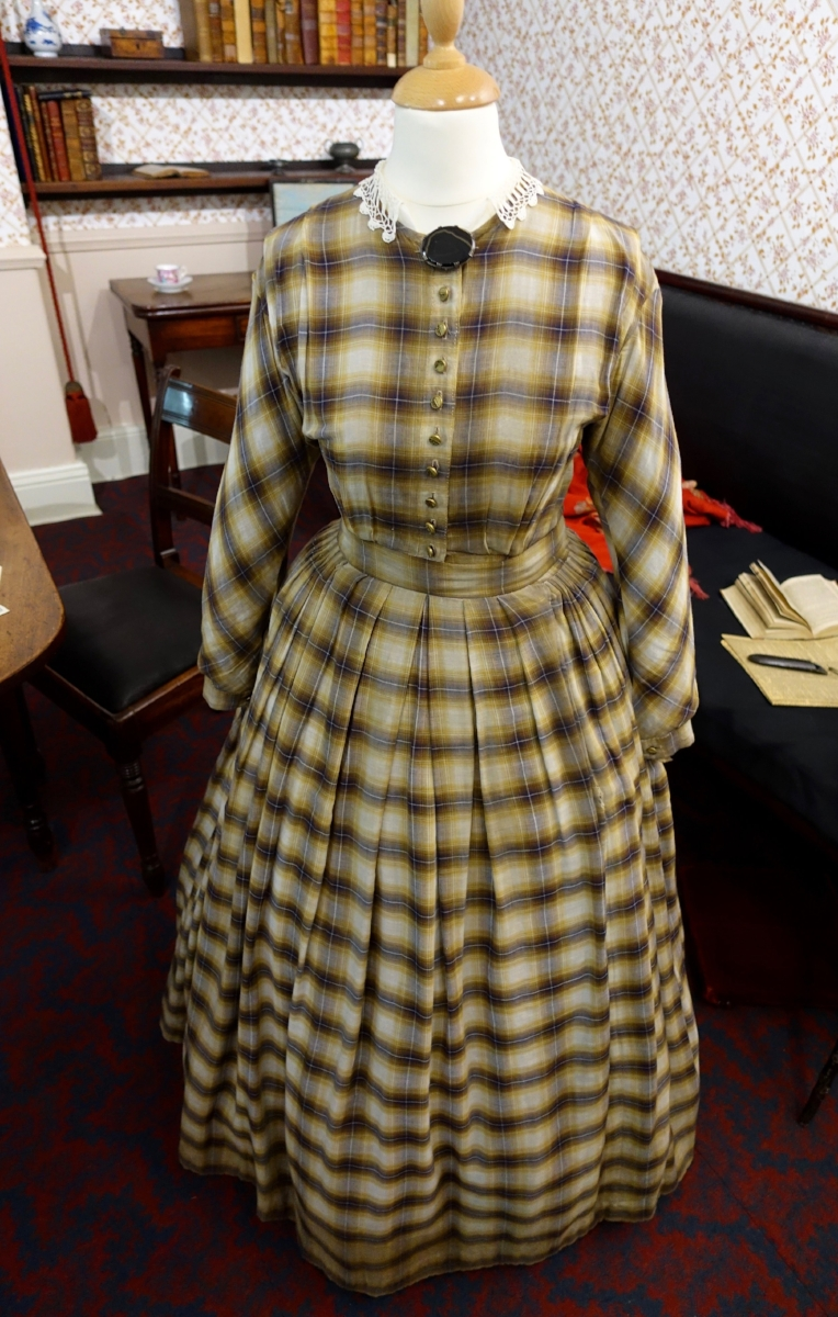 DRESS FROM THE BBC PRODUCTION OF  TO WALK INVISIBLE :  http://www.pbs.org/show/to-walk-invisible-the-bronte-sisters/
