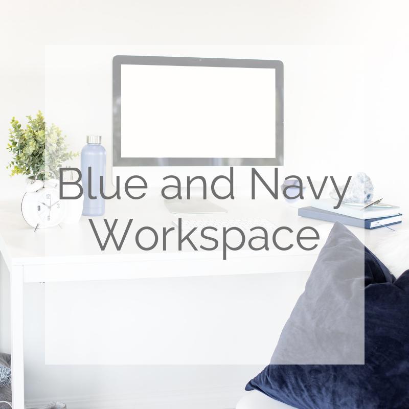 Blue & Navy Workspace