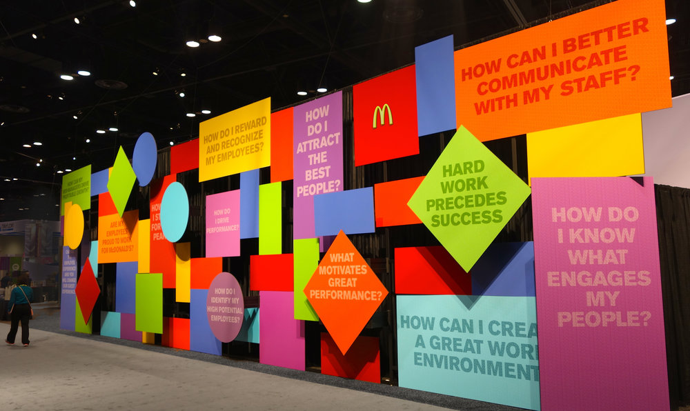 McDonald's World Wide Conference-People Exhibit