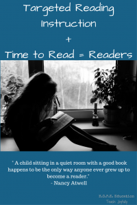 Targeted Reading Instruction + Time to Read = Readers