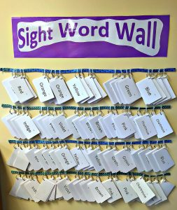 Sight Words are easy to learn with this simple system. Increase fluency and confidence every week.