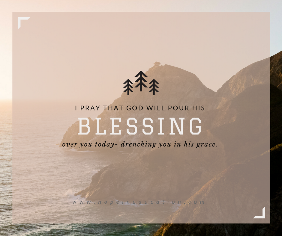 Blessing: Finding the Silver Lining
