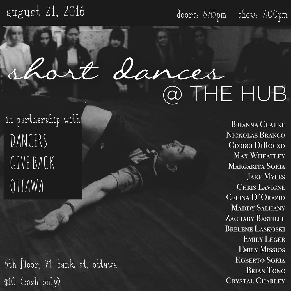 Aug 2016 - The Hub Ottawa