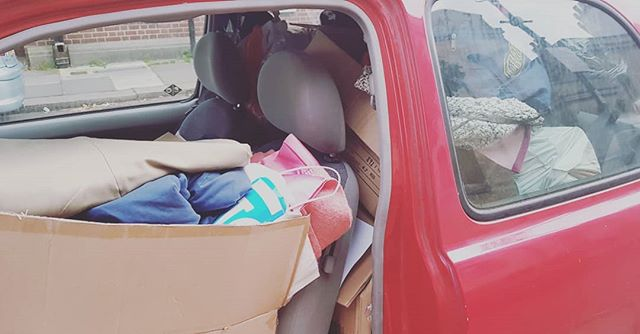 #Worthing - I just dropped off as much of the contents from the Gold Dust Boxes as I could today, I think it's going fill my car 3 times! You were so very generous.. by tomorrow all of the clothes and food will be with the lovely people at Turning Tides and they will make sure that the people who need it, get it. Due to the success of the weekend, I will be bringing the Gold Dust Boxes to EVERY headline show I do now - collecting for a local homeless charity everyone. Thanks again everyone! Well done!