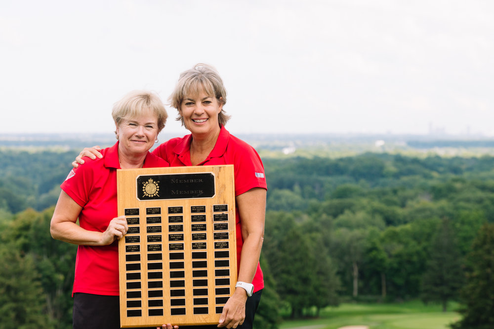 2018 Ladies Champions:  Trish Farrow & Daleen Venter