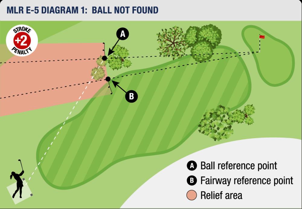 MLR E-5 DIAGRAM 1: BALL NOT FOUND