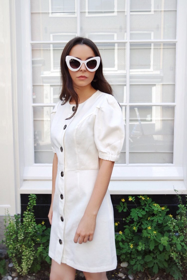 10d74a785e5 Zara Puff Sleeve Dress — SOFIE THOMPSON