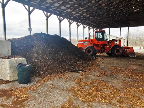 Cayuga County, NY - B&L Engineers assisted with improving biosolids digestion and dewatering processes and efficiency in advance of an aerated static pile composting operation rather than being sent to a landfill, dewatered sludge is converted to compost and is given free of charge to village residents.