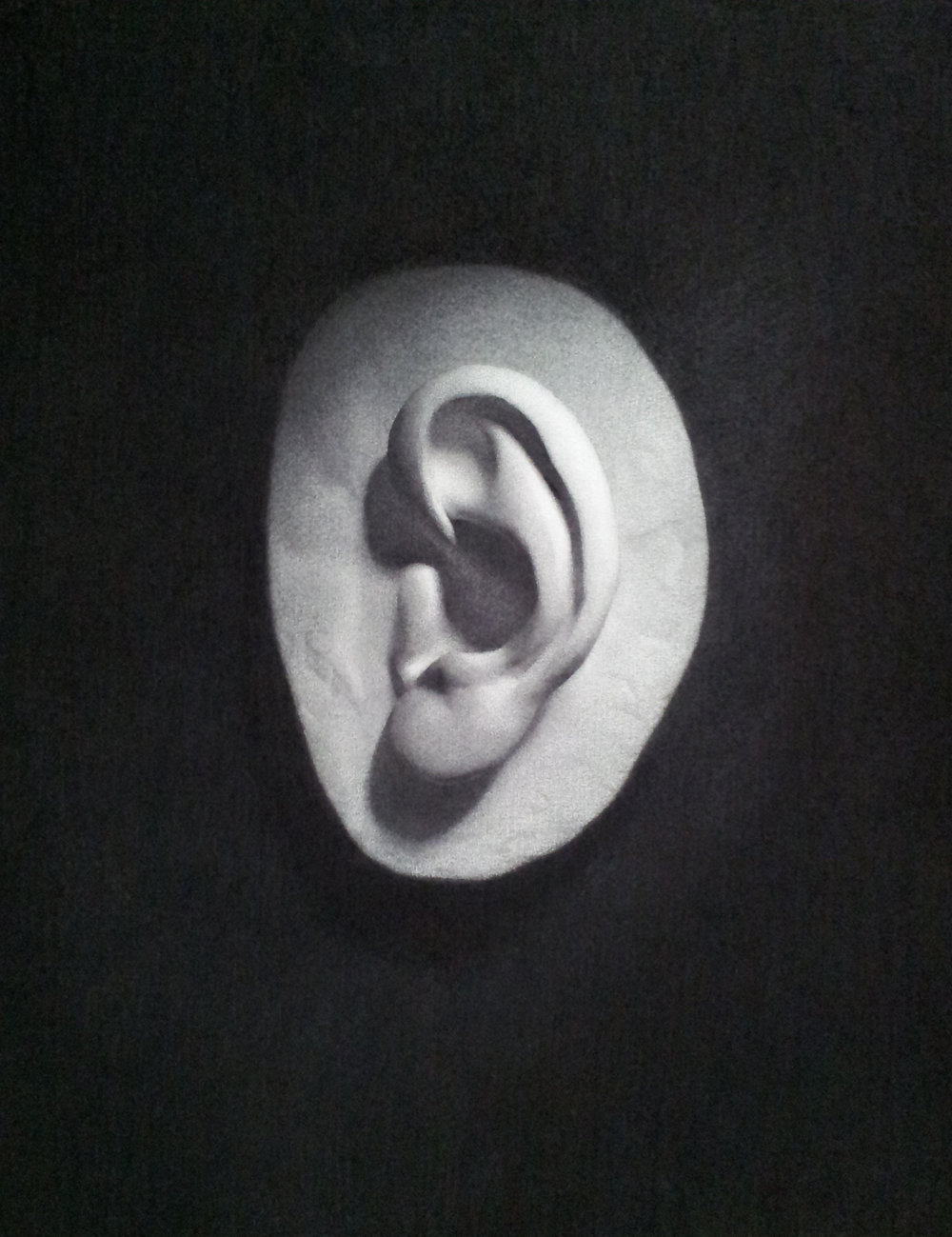 Ear Cast Drawing